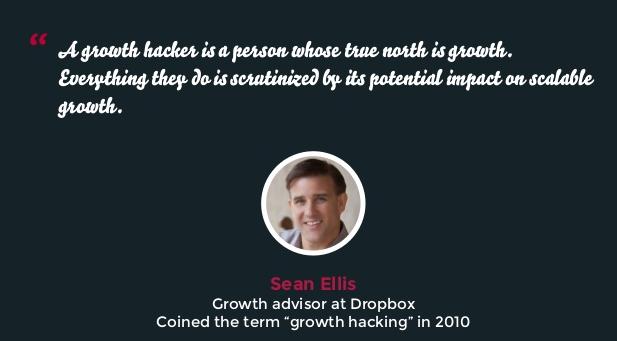 Hoe pas je Growth Hacking in jouw onderneming toe - Sean Ellis quote