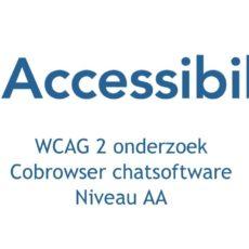 CoBrowser verbetert toegankelijkheid van de chat en ontvangt rapport WCAG 2.1